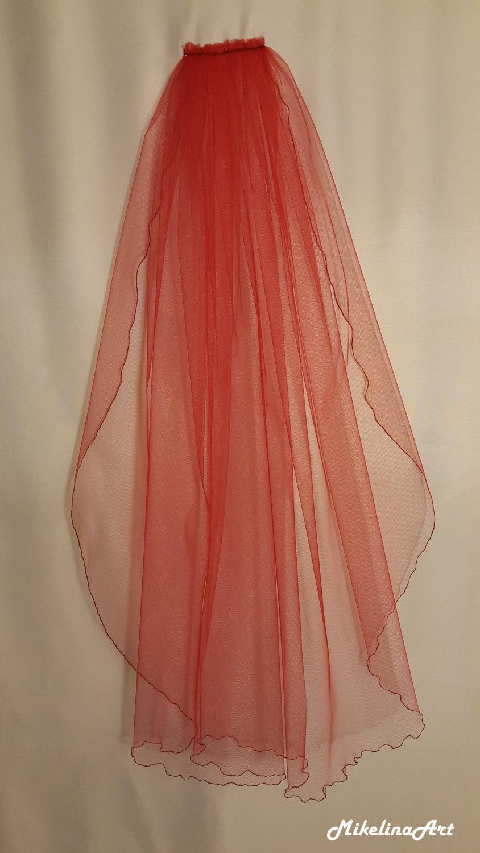 Mariage - Red Wedding Veil