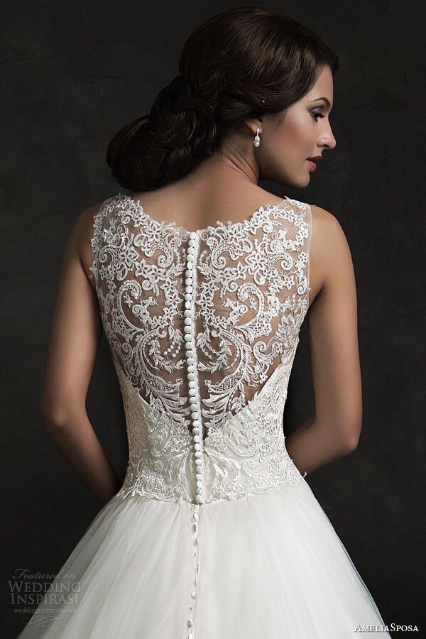 Свадьба - Ivory Bridal Lace Applique, Vintage Style Wedding Gown Applique