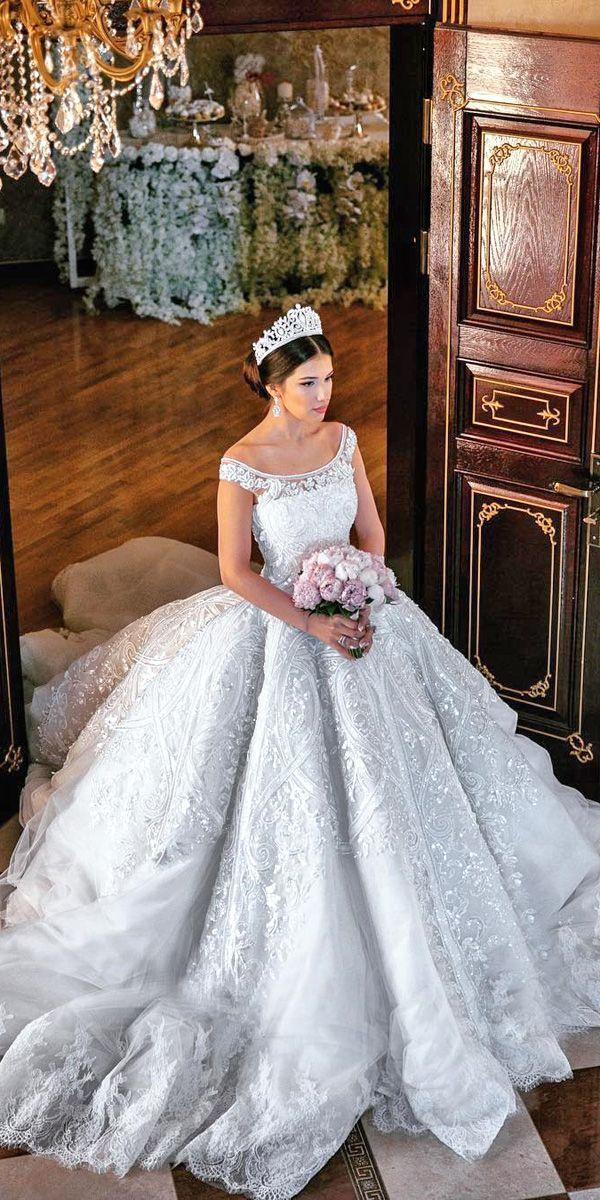 Свадьба - 24 Ball Gown Wedding Dresses Fit For A Queen