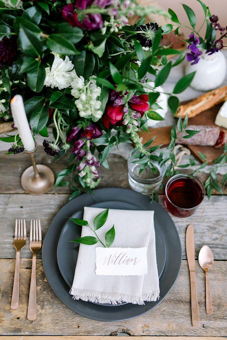 Mariage - Jewel Toned Wedding Ideas