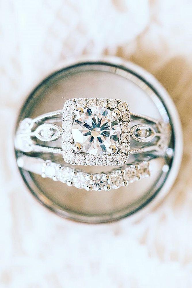 Свадьба - 18 Wedding Ring Sets That Make The Perfect Pair