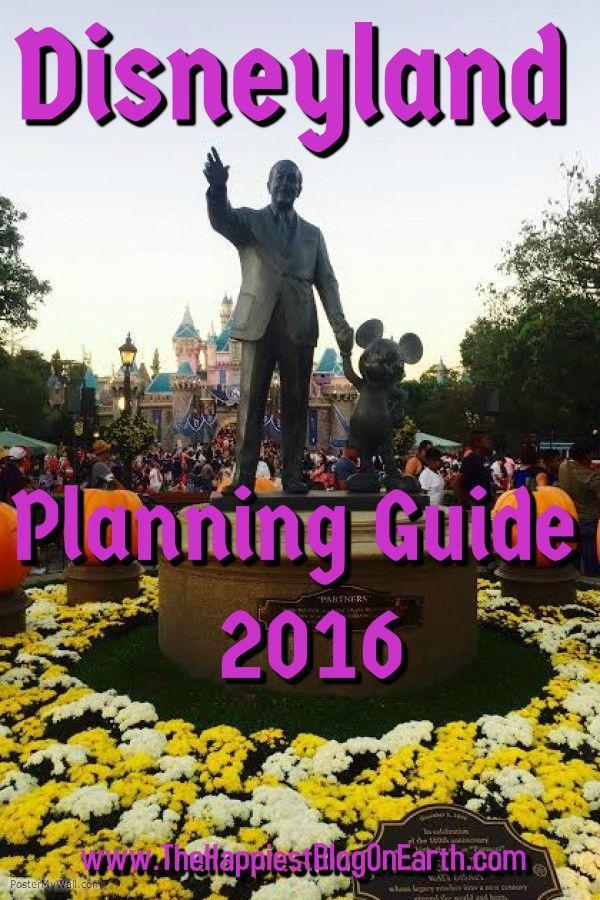 زفاف - Disneyland 2016 Planning Guide