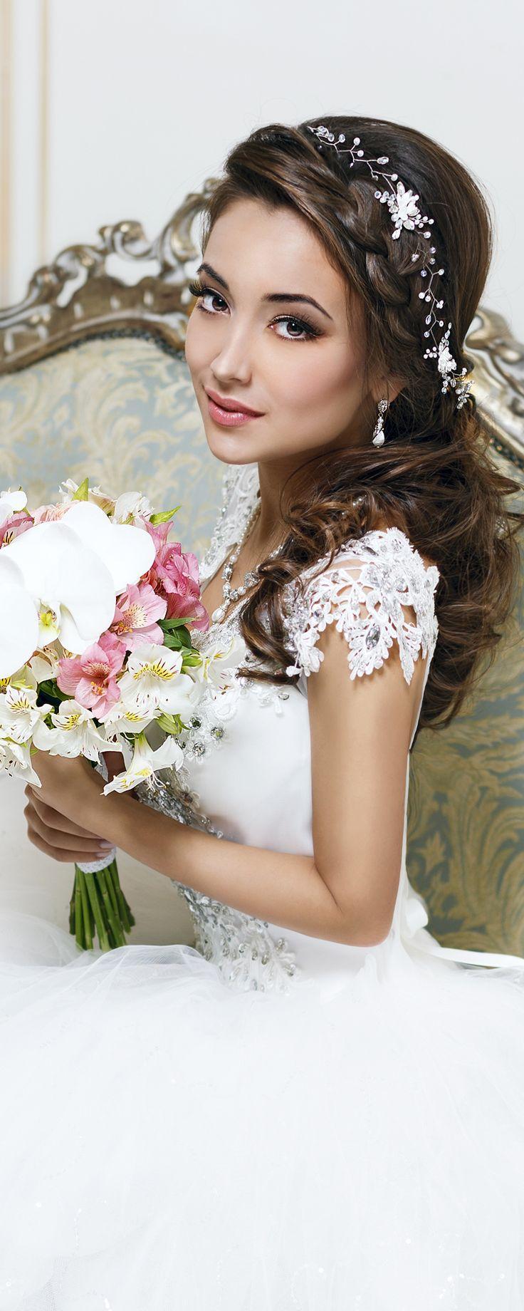 Wedding - Bridal Hair Vine Wedding Hair Vine Flower Hair Vine Long Hair Vine Gold Pearl Hair Vine Bohemian Bridal Headpiece