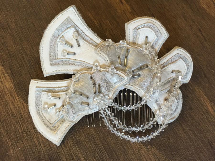 Свадьба - Serenade Silver Lining Comb