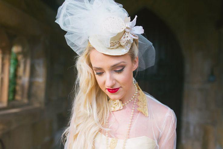 Bridal Top Hat 9c9b94820f2