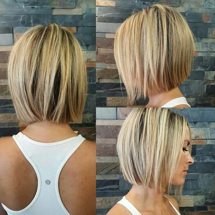 Свадьба - 20 Daily Graduated Bob Cuts For Short Hair - Graduated Bob Hairstyles 2017