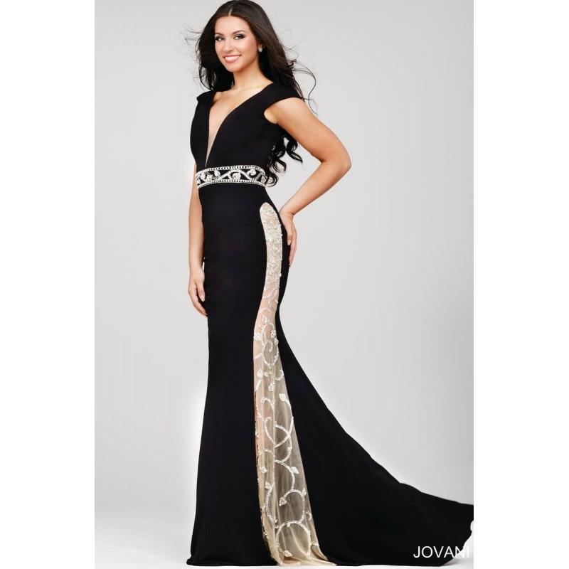 Wedding - Black Jovani Prom 22893 - Brand Wedding Store Online