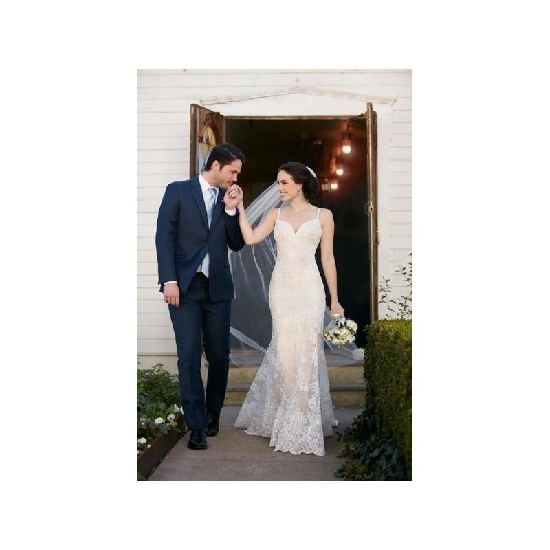 Свадьба - Vestido de novia de Martina Liana Modelo 819 - 2017 Sirena Tirantes Vestido - Tienda nupcial con estilo del cordón
