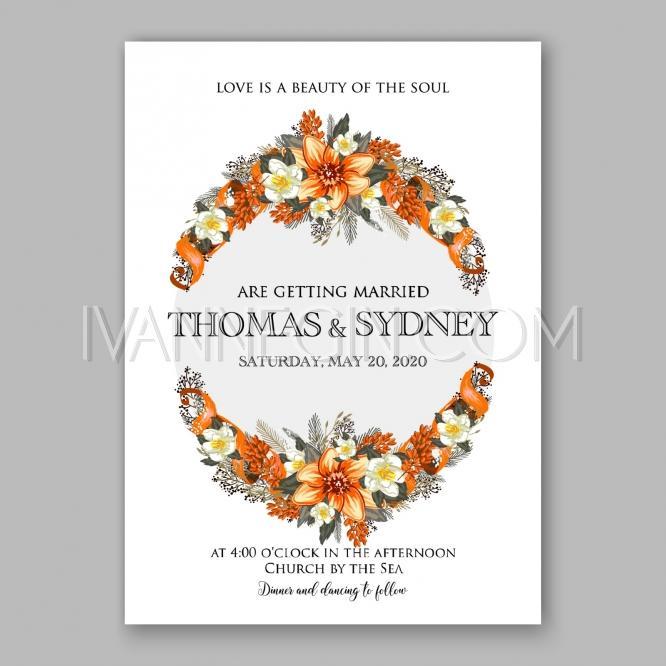 Romantic Orange Peony Flowers The Bride S Bouquet Wedding