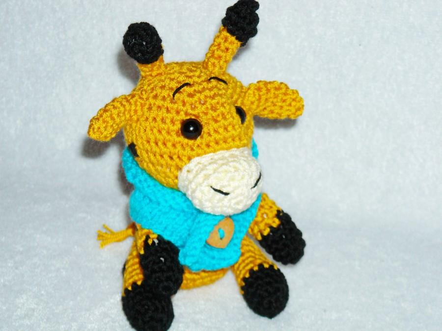 Wedding - amigurumi giraffe crochet giraffe giraffe toy stuffed giraffe animal giraffe plush little giraffe african animal giraffe home decor
