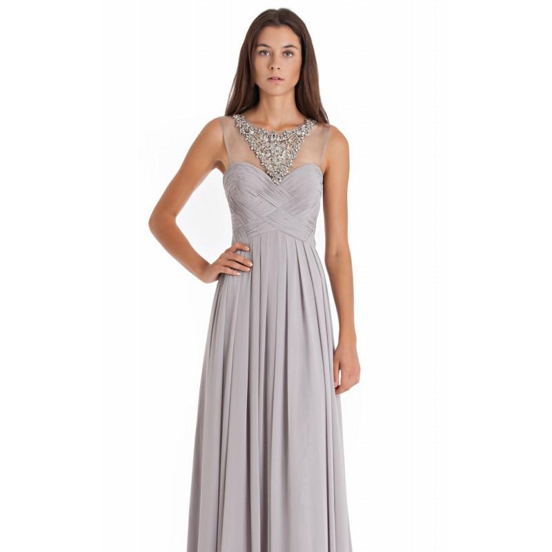 Beaded Crisscross Gown By JS Collections 864309 - Bonny Evening ...