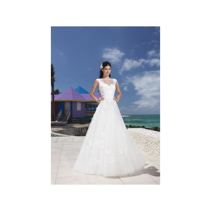 Wedding - Vestido de novia de Sincerity Modelo 3790_001 - 2014 Evasé Otros Vestido - Tienda nupcial con estilo del cordón