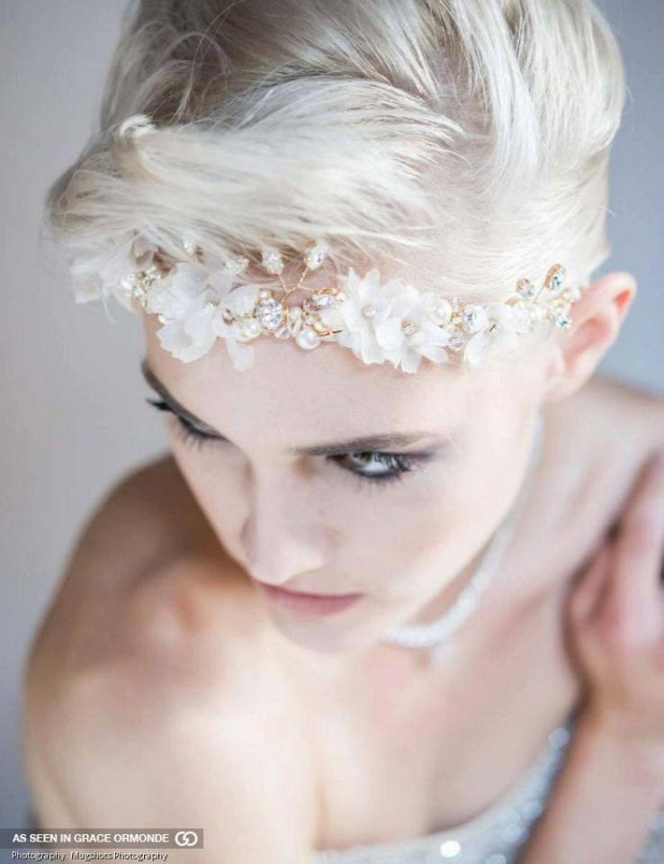 Mariage - Gold Bridal Flower Crown, Crystal Crown, Flower Headband, Bridal headband, Pearl Halo, Gold Crystal Pearl Tiara, Pearl Crown KIMBERLY
