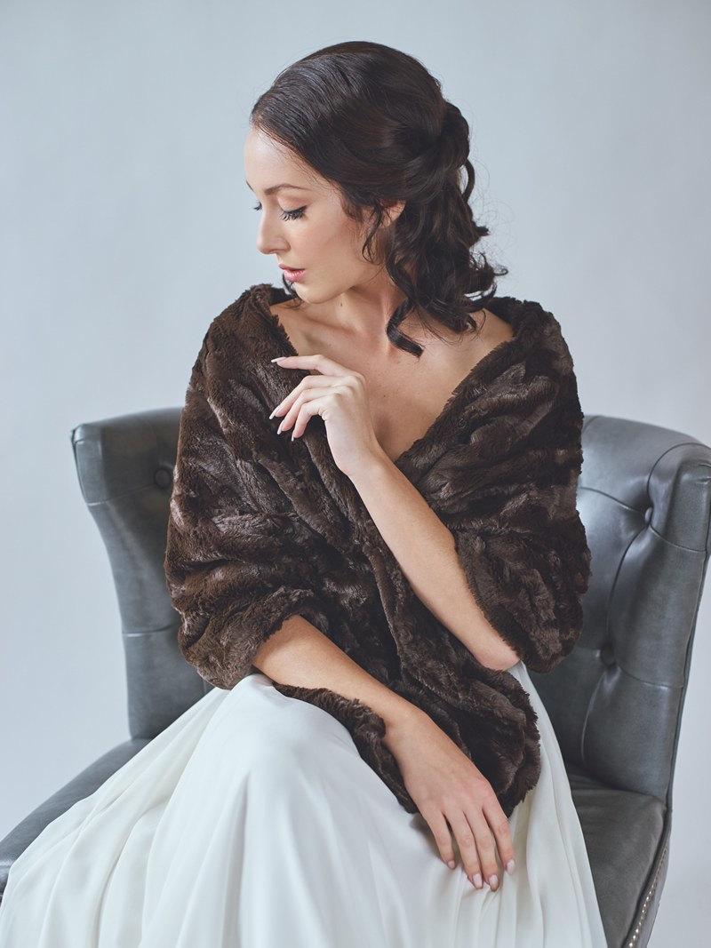 Wedding - Bridal Fur Stole