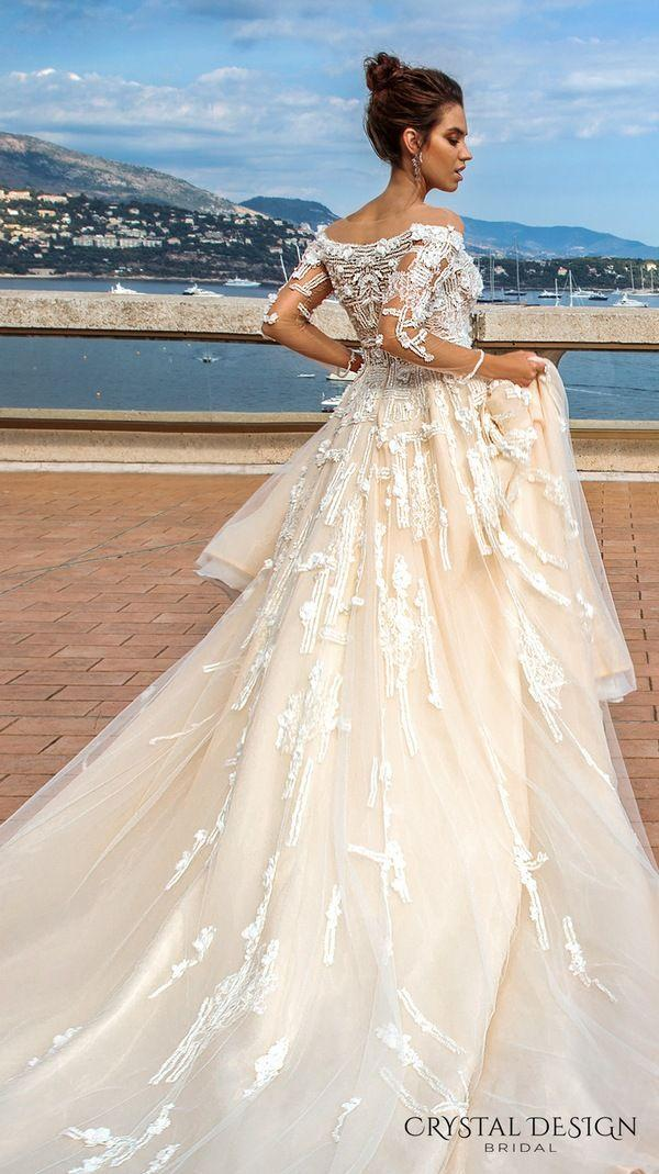 Mariage - Crystal Design Haute & Sevilla Couture Wedding Dresses 2017