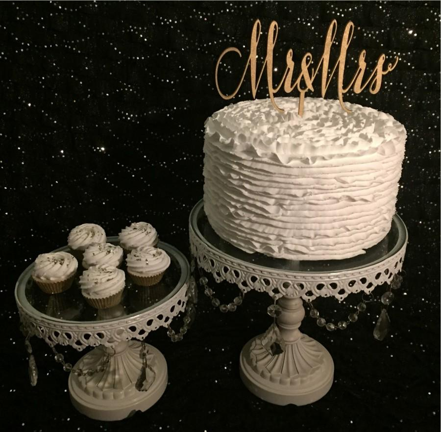 Rose Gold Wedding Cake Topper Mr And Mrs Cake Topper Mr Mrs Cake