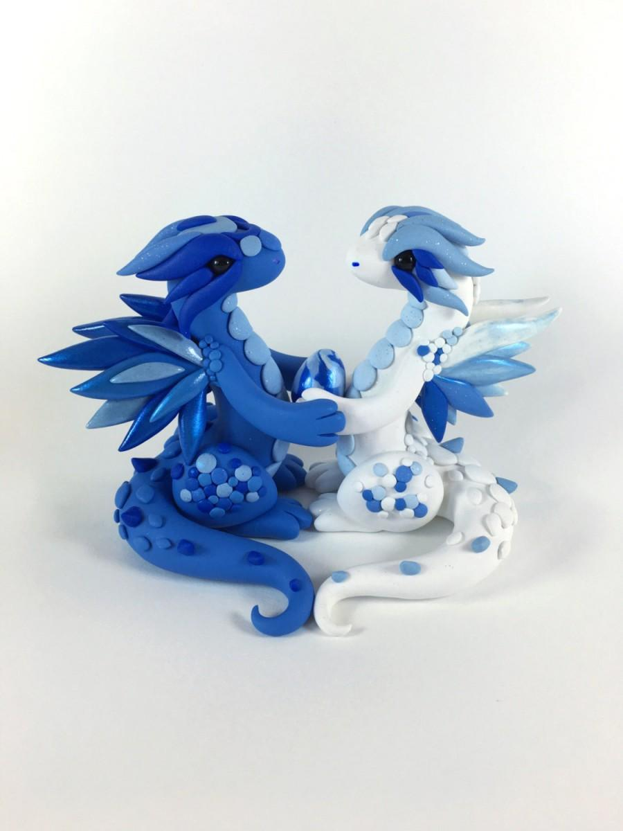 READY TO SHIP- Dragon Wedding Cake Topper With Egg #2666246 - Weddbook