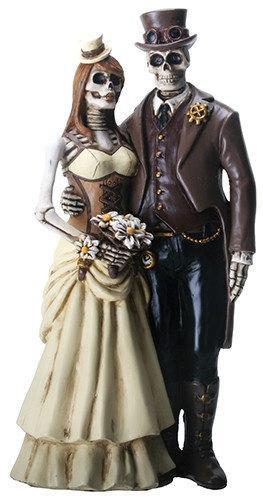 Hochzeit - Steampunk Wedding Cake Topper