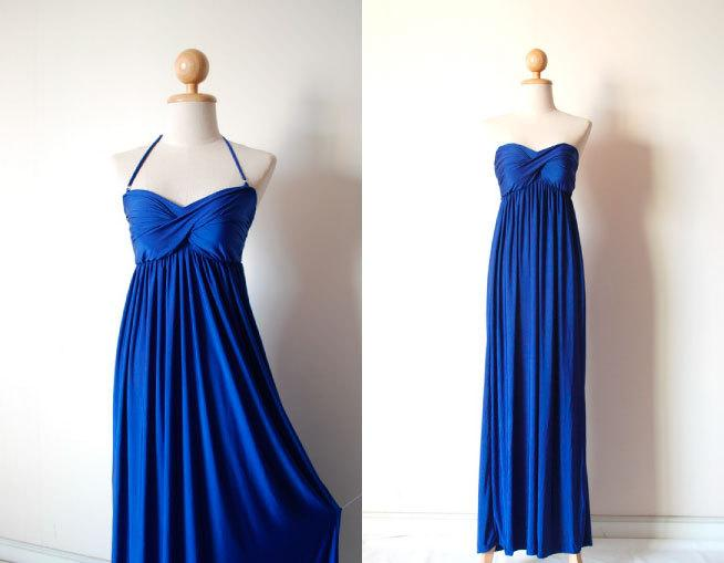 Mariage - Prom Dress in Blue