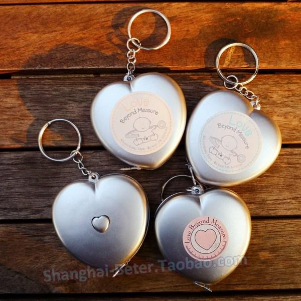 Mariage - Love Beyond Measure Measuring Tape Keychain ZH004 Baby Gifts