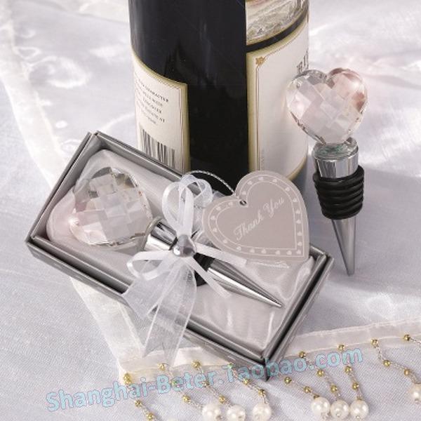 Wedding - Beter Gifts® Crystal Wedding Favor開幕式婚慶用品SJ020結婚禮品生日禮物女生遊戲獎品 情人節派對