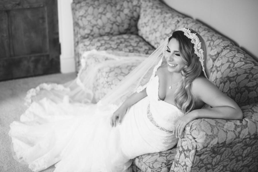 Свадьба - Lace Mantilla Veil