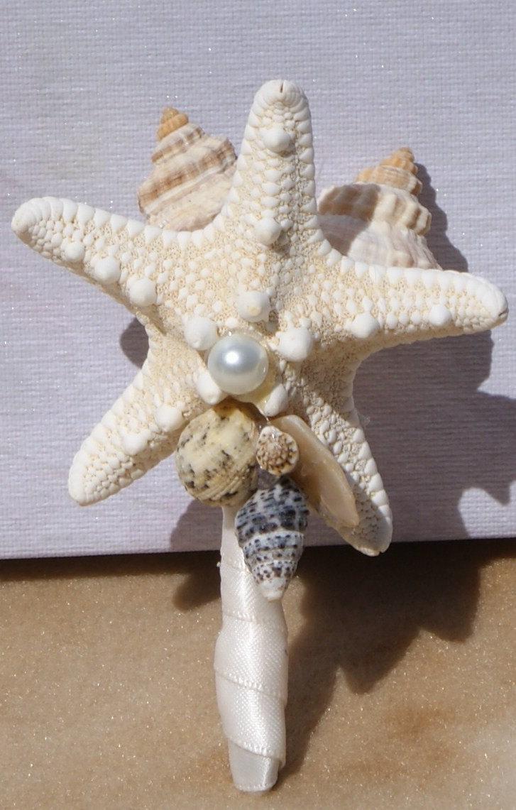 Свадьба - Groom and Groomsmen boutonnieres samples, seaside, beach wedding