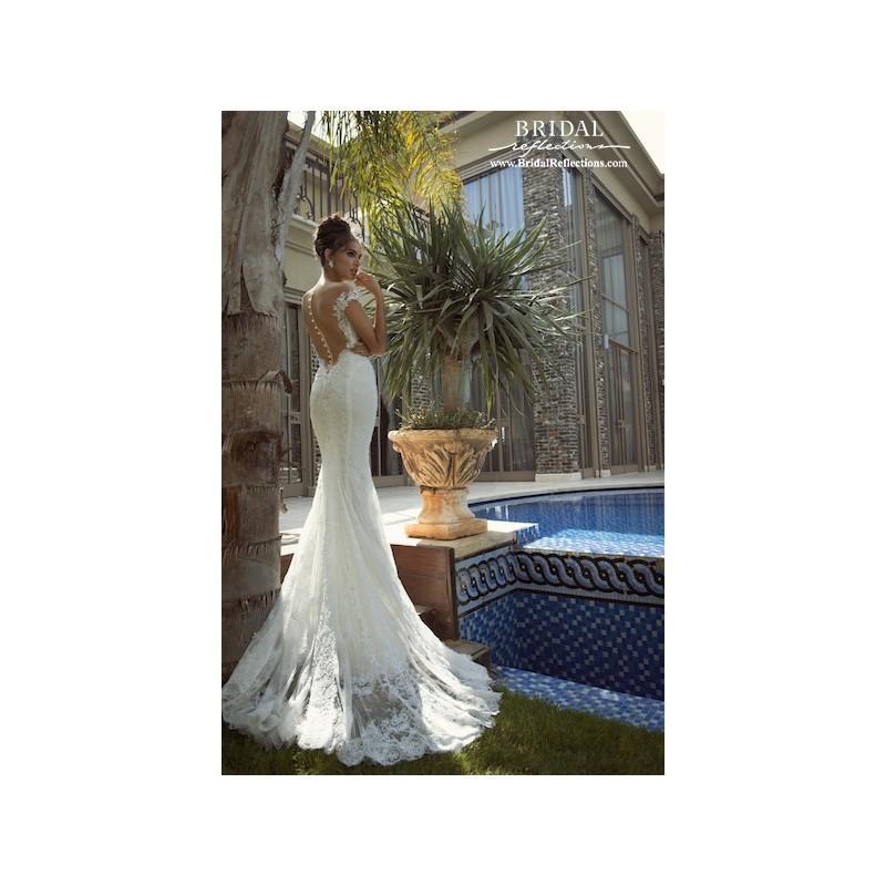 Wedding - Galia Lahav Isabella (back) - Burgundy Evening Dresses