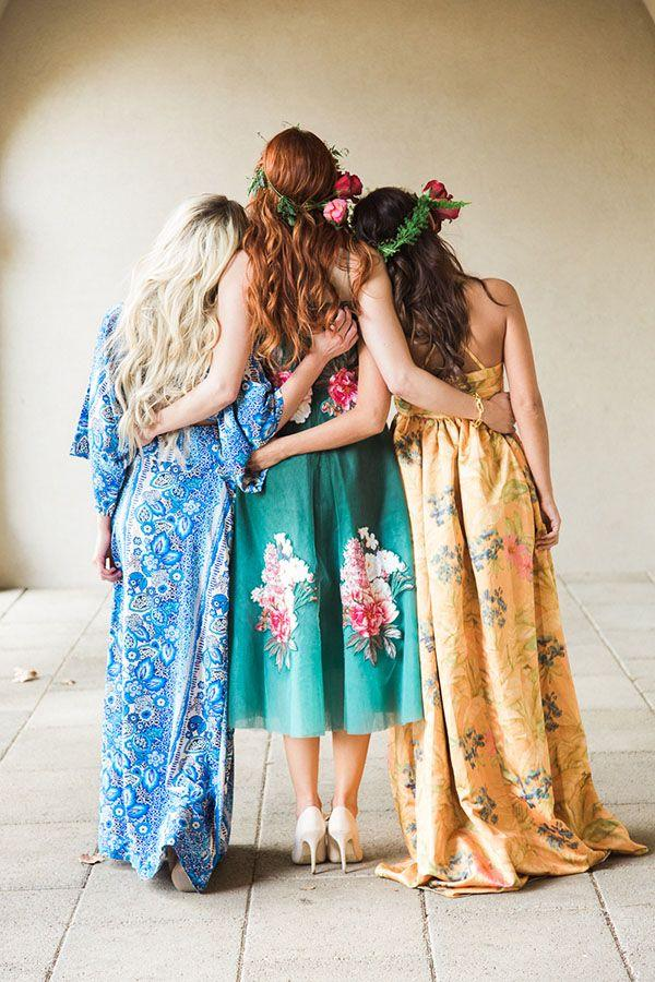 Mariage - The Bridesmaids' Revels – A High Fashion Bohemian Bridal Shower
