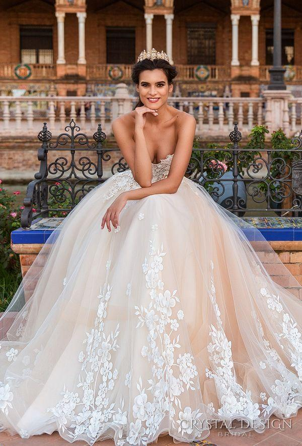 Mariage - Crystal Design Haute & Sevilla Couture Wedding Dresses 2017
