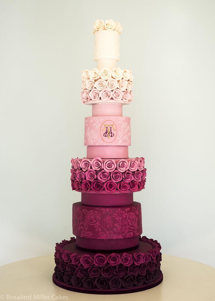 زفاف - 17 Pretty Perfect Wedding Cakes We're Drooling Over