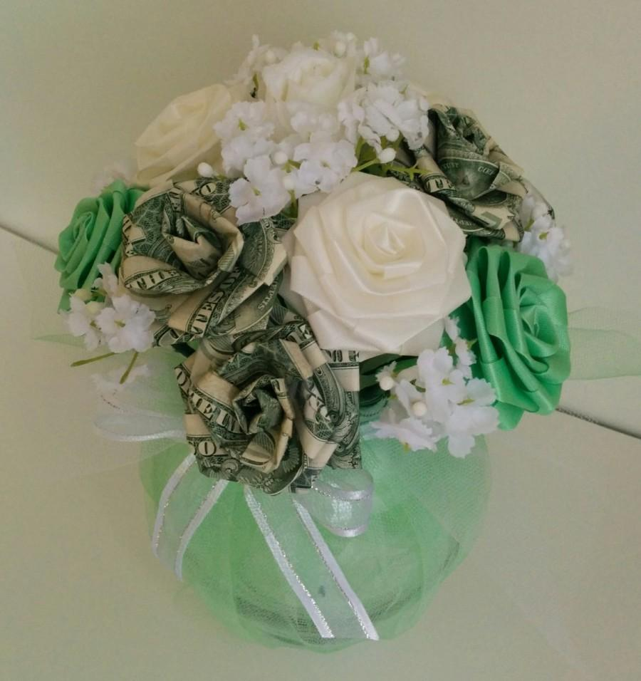 Lai see money chubby pot ribbon flower centerpiece 2666972 weddbook lai see money chubby pot ribbon flower centerpiece izmirmasajfo