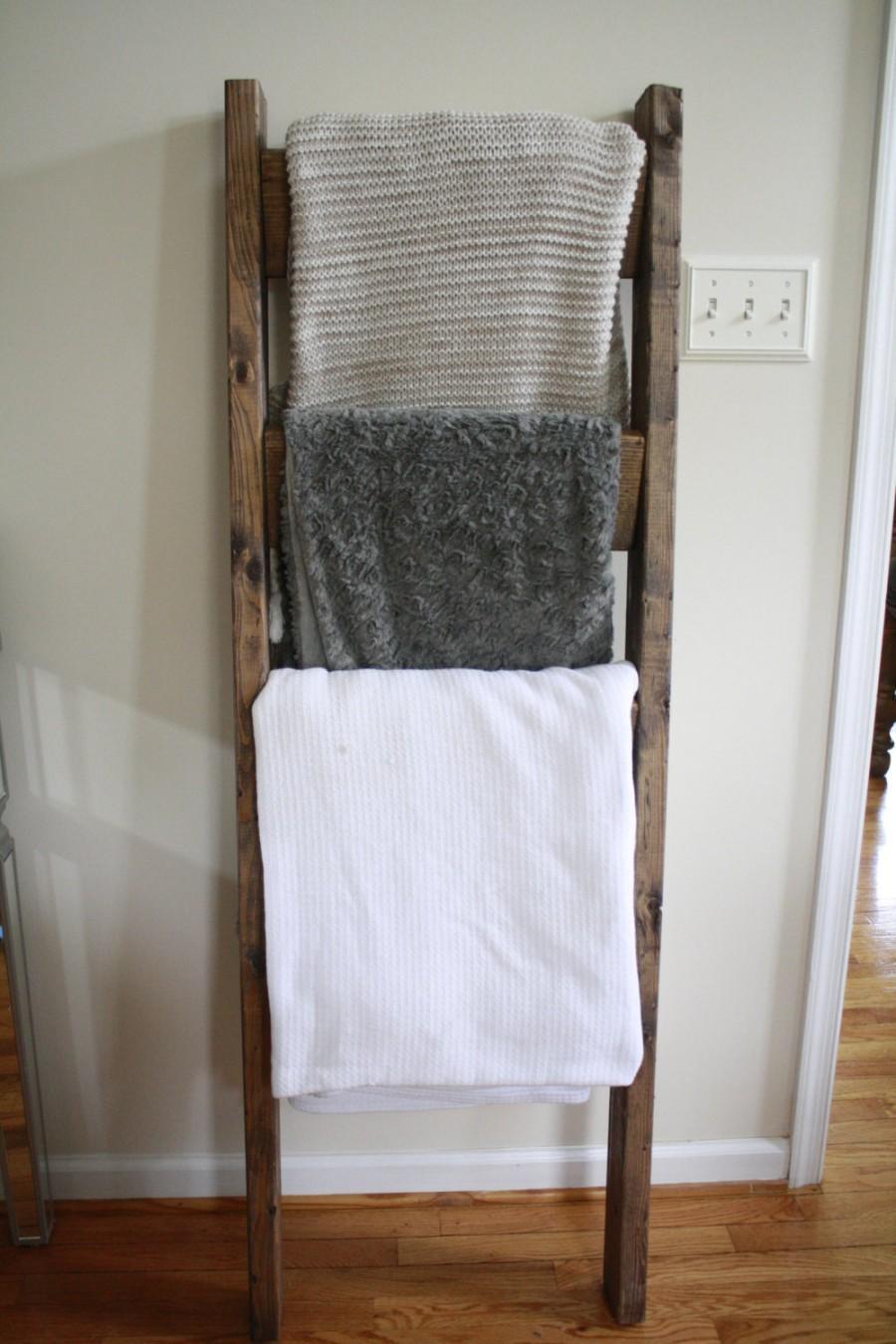 زفاف - Blanket Ladder, Towel Ladder, Decorative Ladder