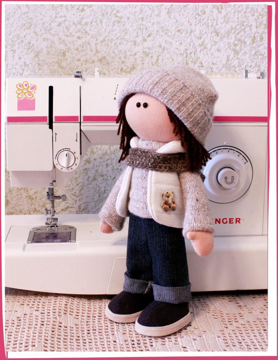 Tilde Doll Rag Doll Handmade Christmas Gift Souvenir Doll Cute Doll ...