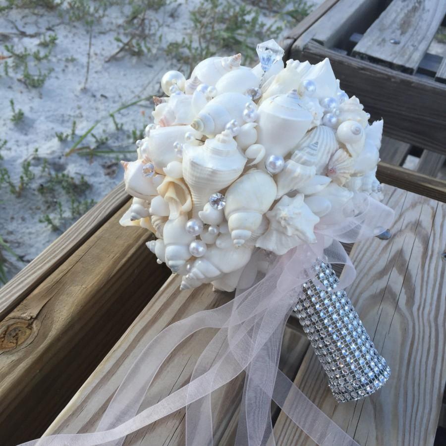 Hochzeit - Xo bouquets seashell bouquet pictured in people online  wedding