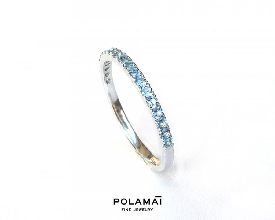 band a ring diamonds bands upon large products once eternity with aquamarine triple diamond