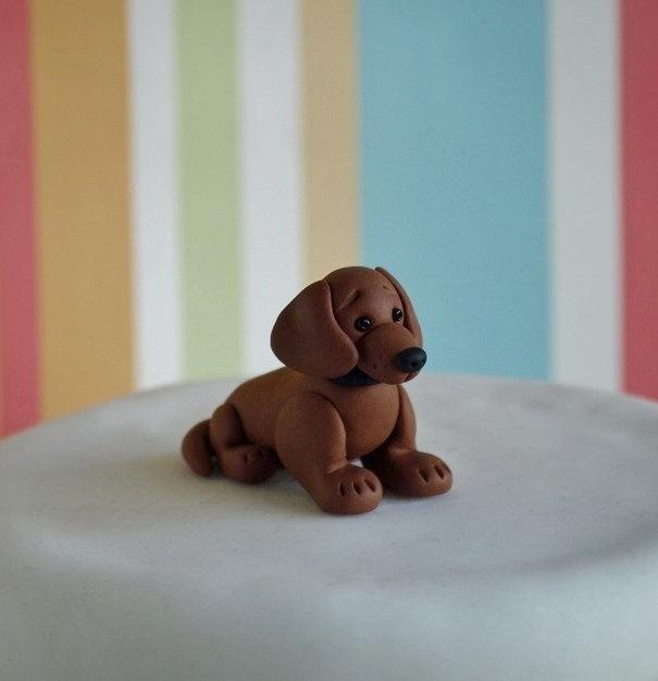 Hochzeit - Dachshund Cake Topper - Dog Wedding Cake Topper - Dog Birthday Cake Topper - Grooms Cake Topper - Custom Dog Wedding Cake Topper