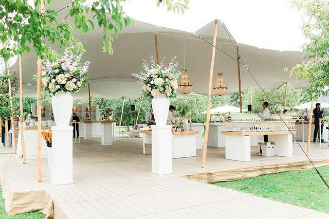 Mariage - Boda con lamparas de cristal.