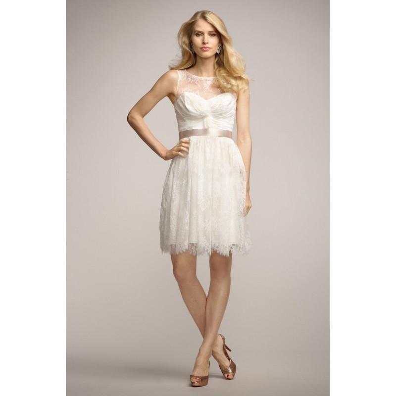 Wedding - Watters Encore Pepper 3684E Bridesmaid Dress - Bridesmaids, Reception Cocktail Bateau A Line Watters Dress - 2017 New Wedding Dresses