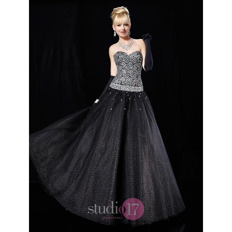 9a002a05aa9 Beautiful Tulle Sweetheart A-line Floor-length Strapless Empire  Prom evening formal Dresses Studio 17 12325 - Cheap Discount Evening Gowns