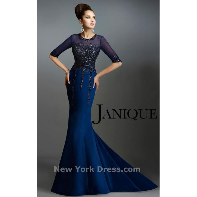 Janique 541 Charming Wedding Party Dresses