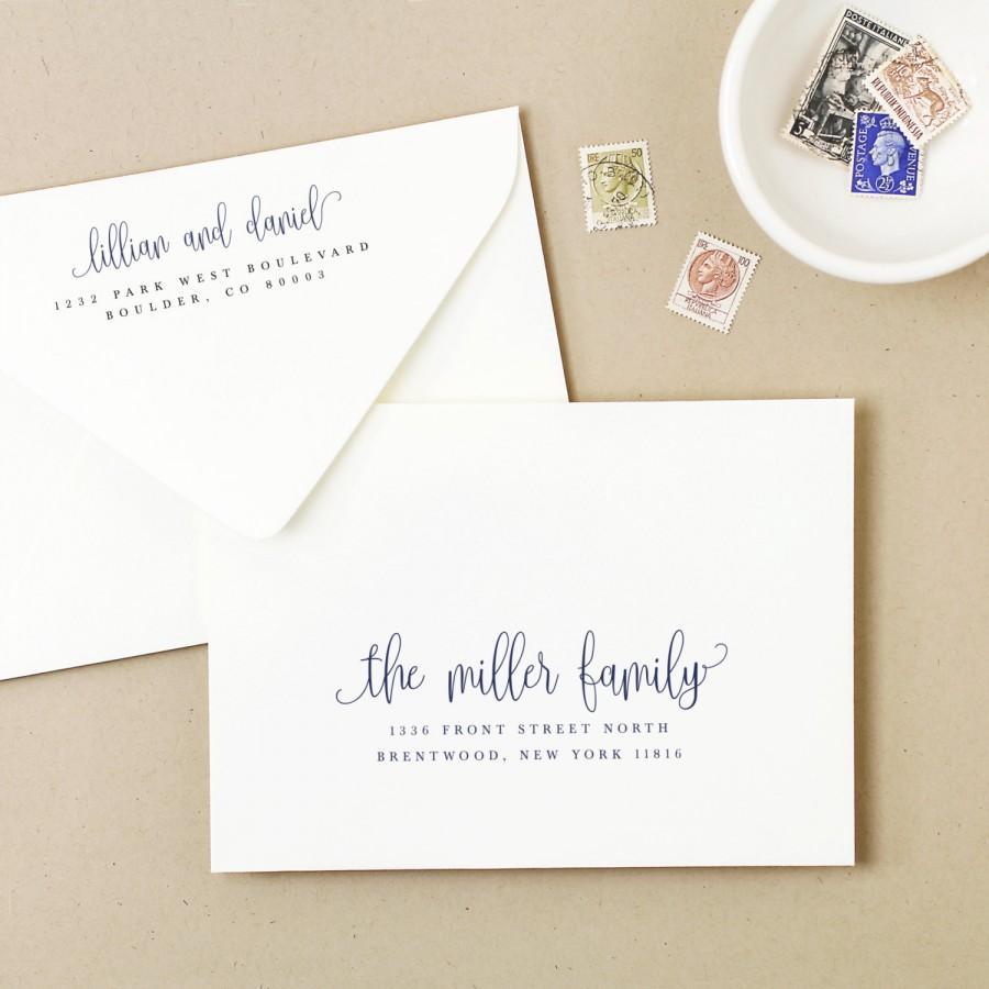 Einladung - Printable Envelope Template #2667892 - Weddbook