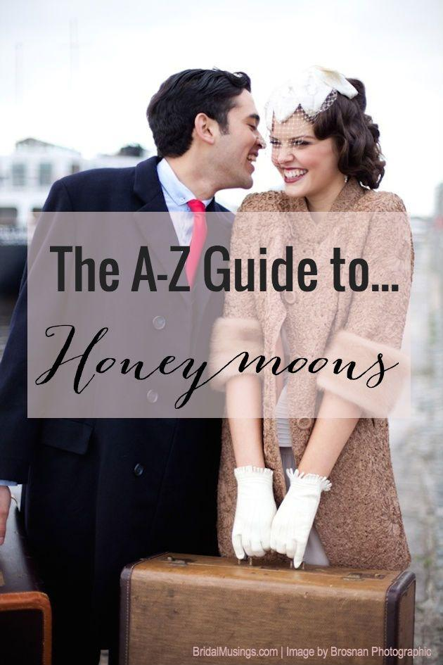 Mariage - A-Z Guide To Honeymoons
