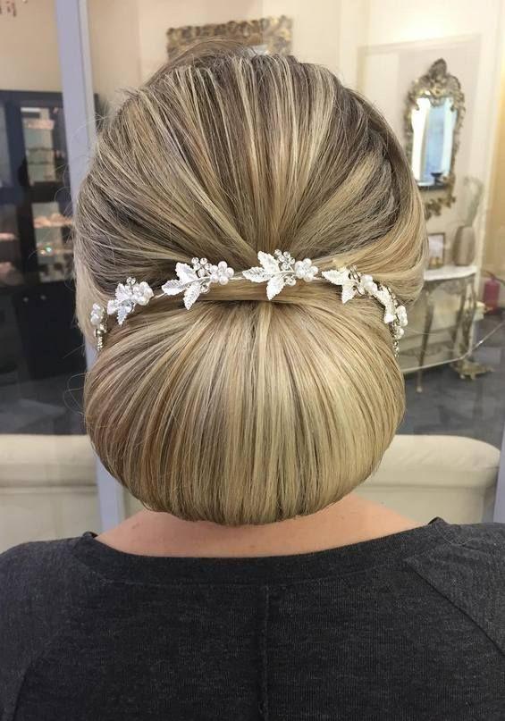 Mariage - 65 Long Bridesmaid Hair & Bridal Hairstyles For Wedding 2017