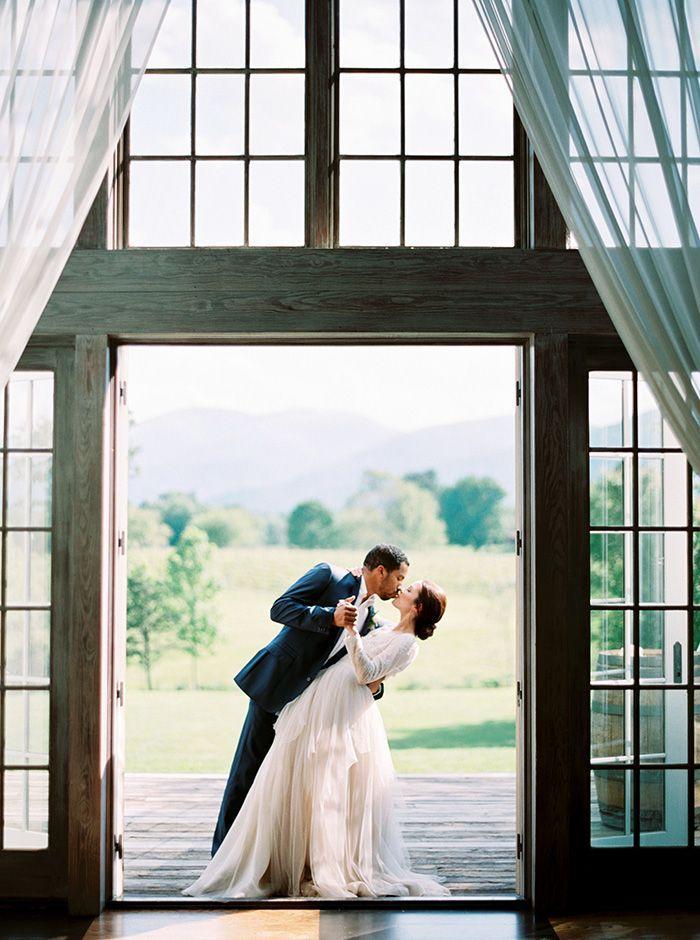 زفاف - Summer Greenery Vineyard Wedding Inspiration
