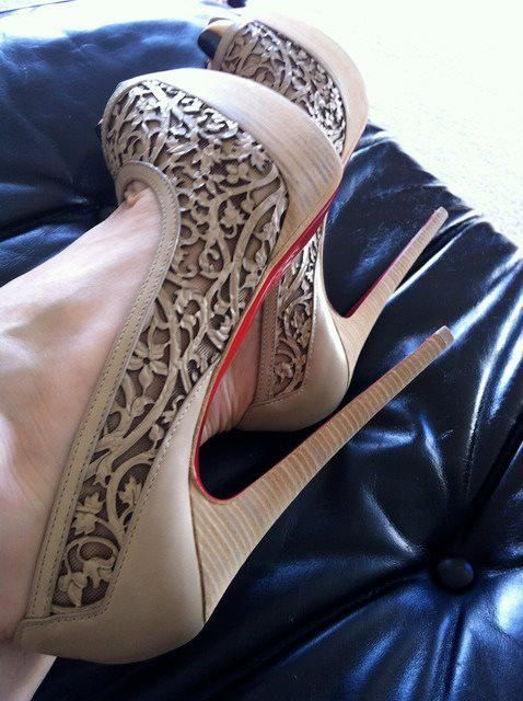 Düğün - Christian Louboutin Shoes