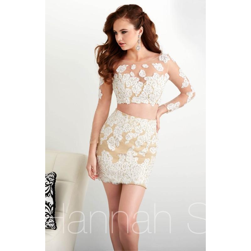 Sheer lace 2 piece dress