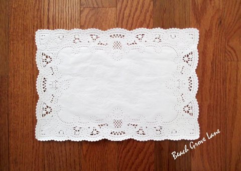 Mariage - 100+ White Lace Paper Placemats~Quantities:  100/110/120/130/140 Dinner Place Setting~Weddings~Showers~Parties~Scrapbooking~Embellishing