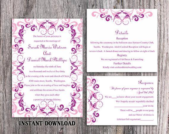 invitation template download