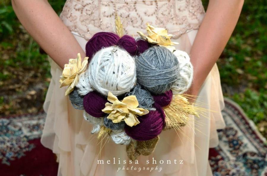 Mariage - Yarn Bouquet, Custom Made